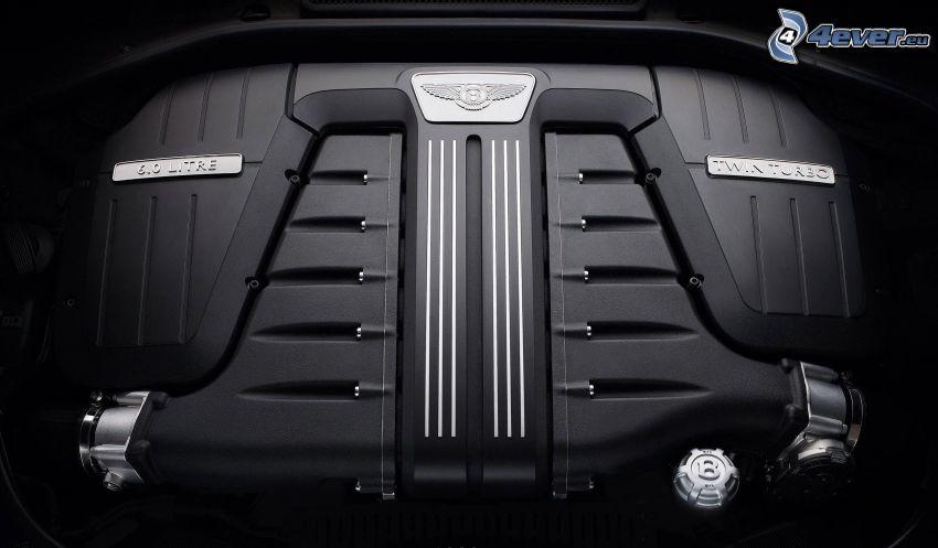Bentley Continental GT, engine