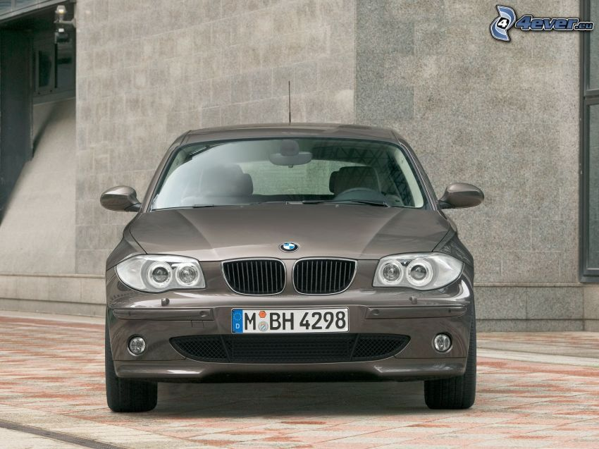 BMW 1, front grille