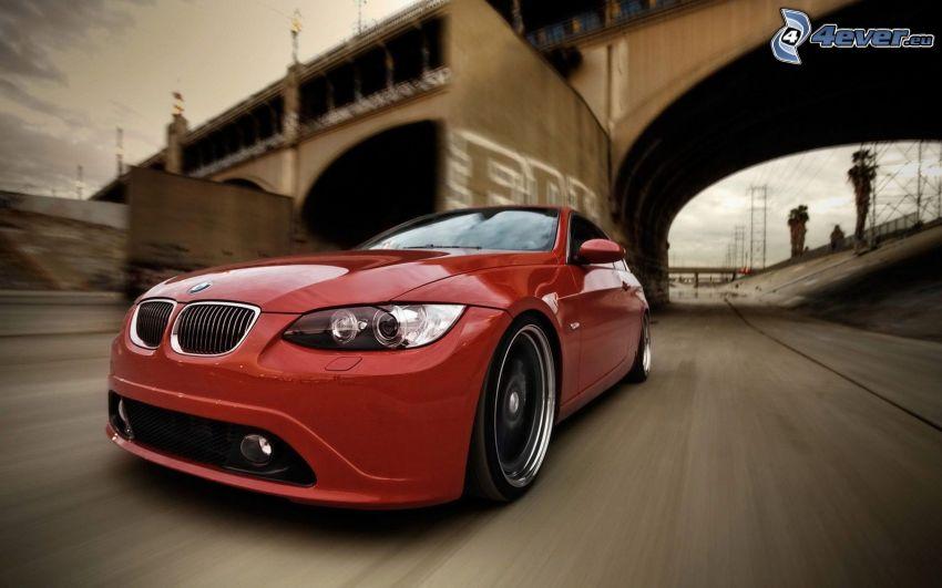 BMW 335i, speed