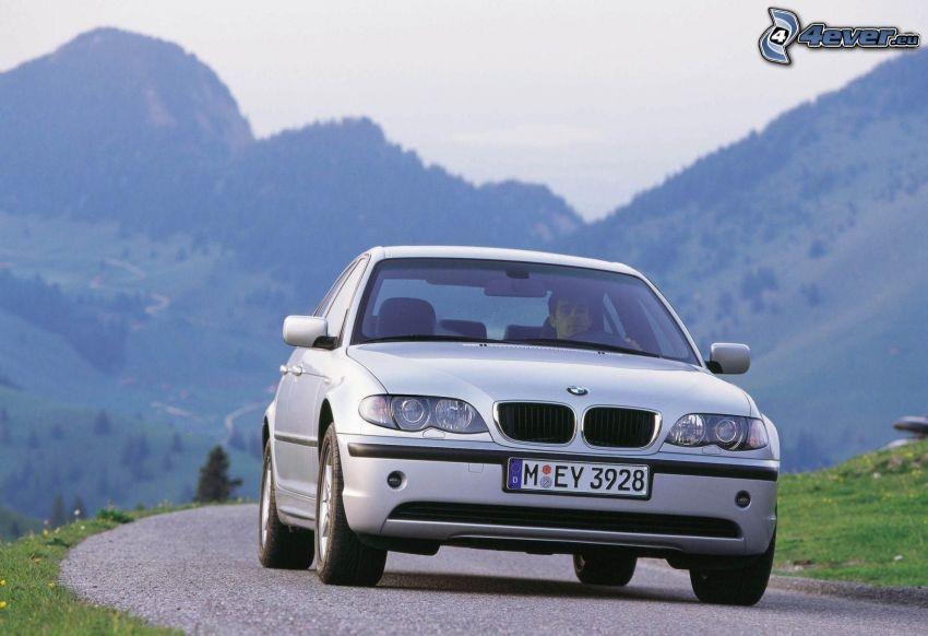 BMW 6 Series, hills
