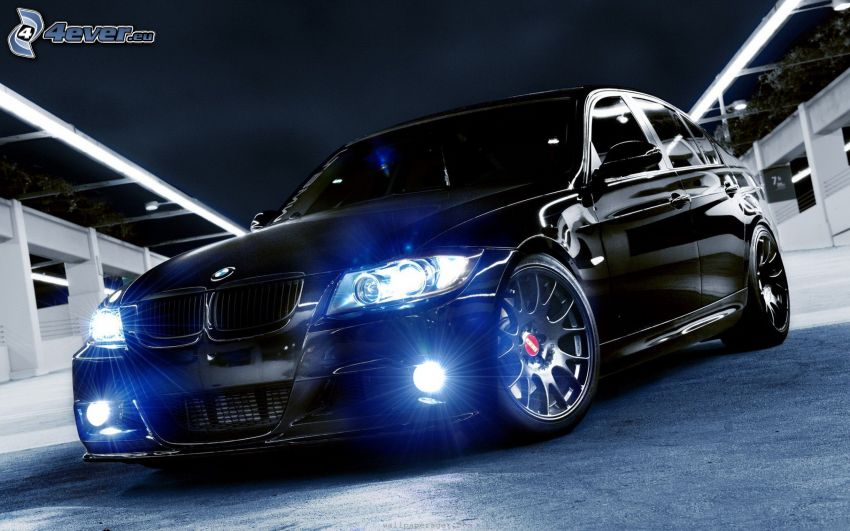 BMW M3, lights