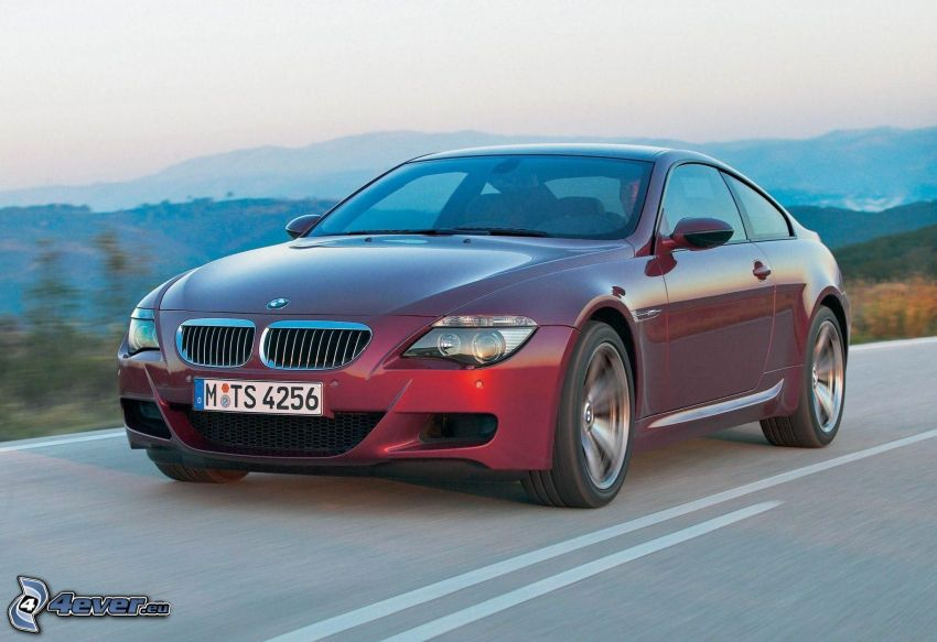 BMW M6, speed