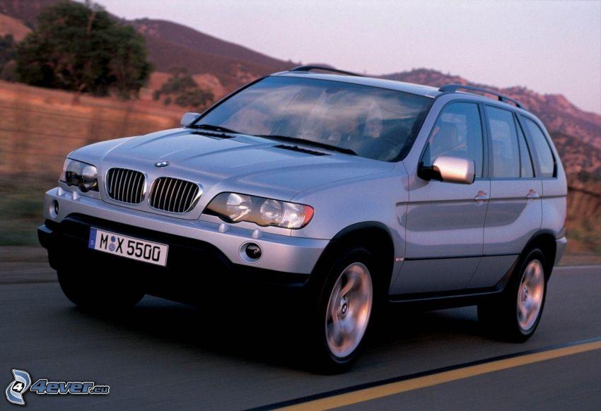 BMW X5, speed