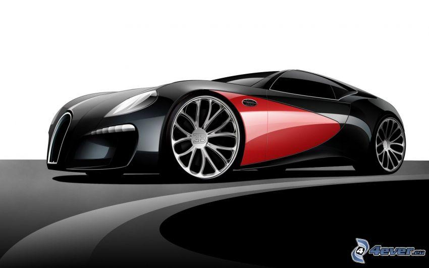 Bugatti Type 12-2, concept