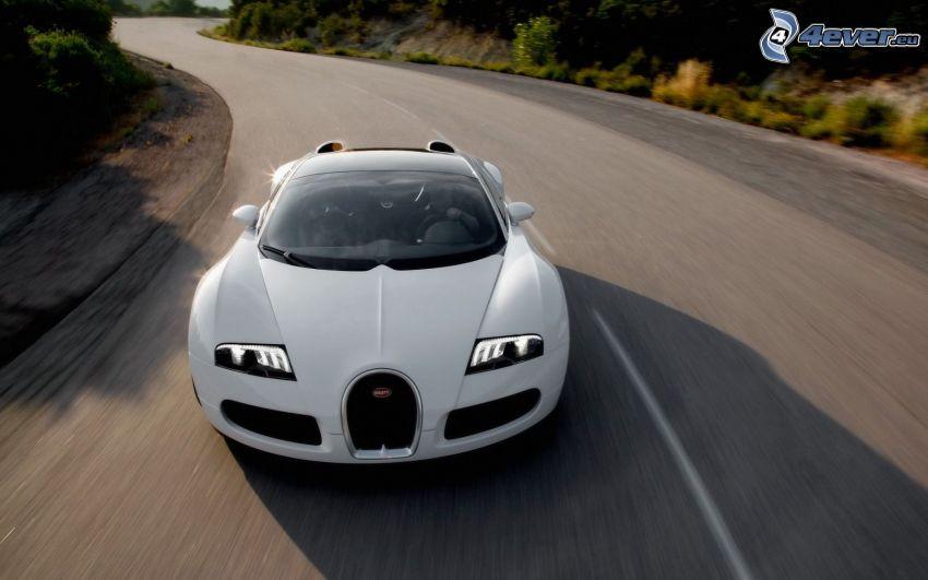 Bugatti Veyron 16.4, road