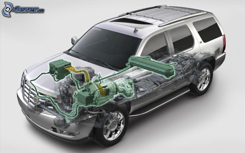 Cadillac, construction, hybrid