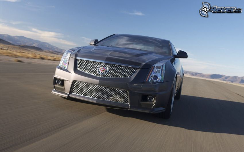 Cadillac CTS, speed