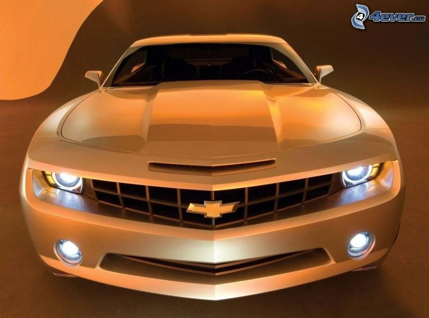 Chevrolet Camaro SS, front grille, lights