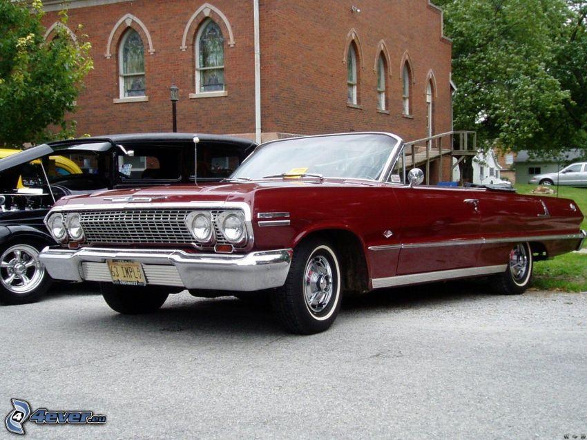 Chevrolet Impala, convertible, oldtimer