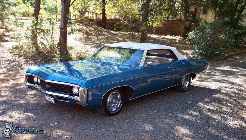 Chevrolet Impala, oldtimer, road