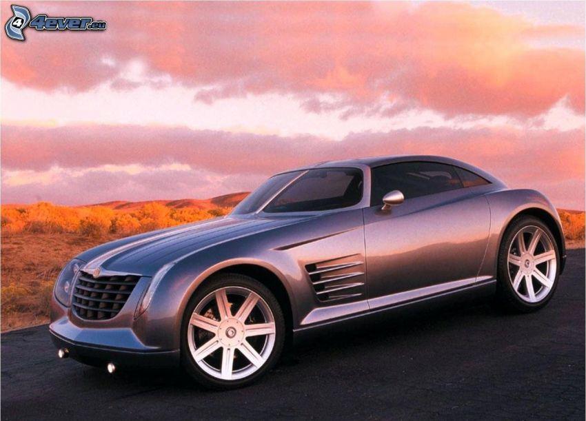 Chrysler, sunset