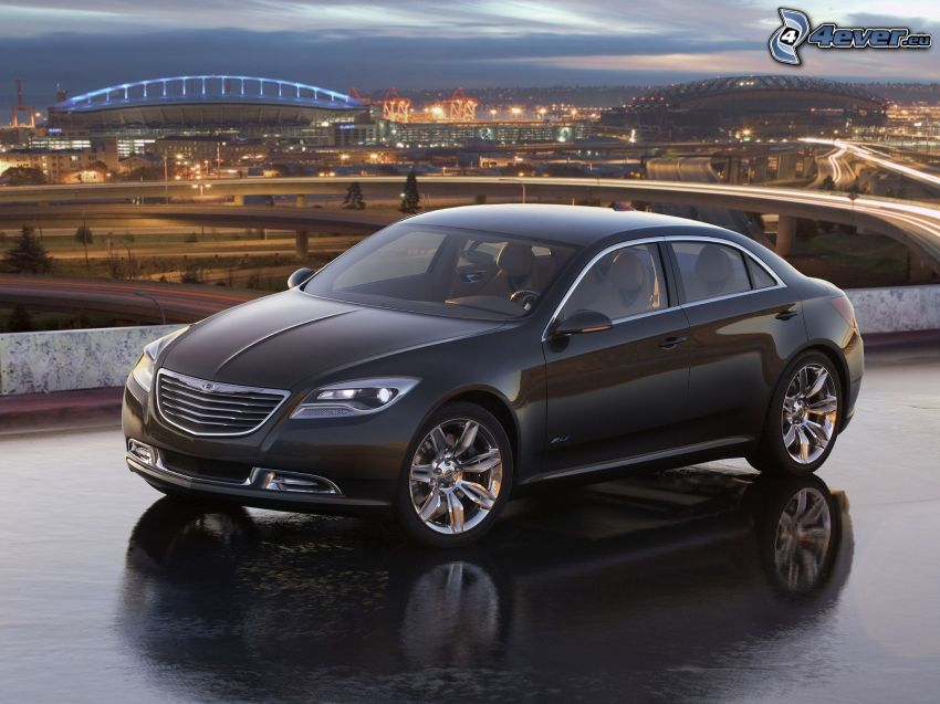 Chrysler 200, concept, view of the city