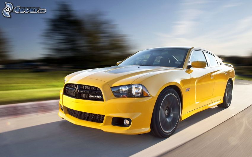Dodge Charger, speed