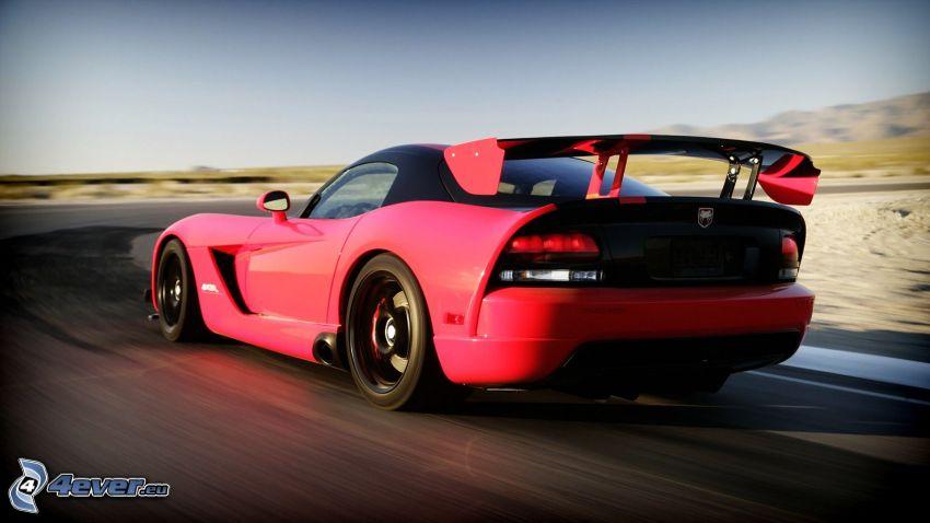 Dodge Viper Srt 10, road