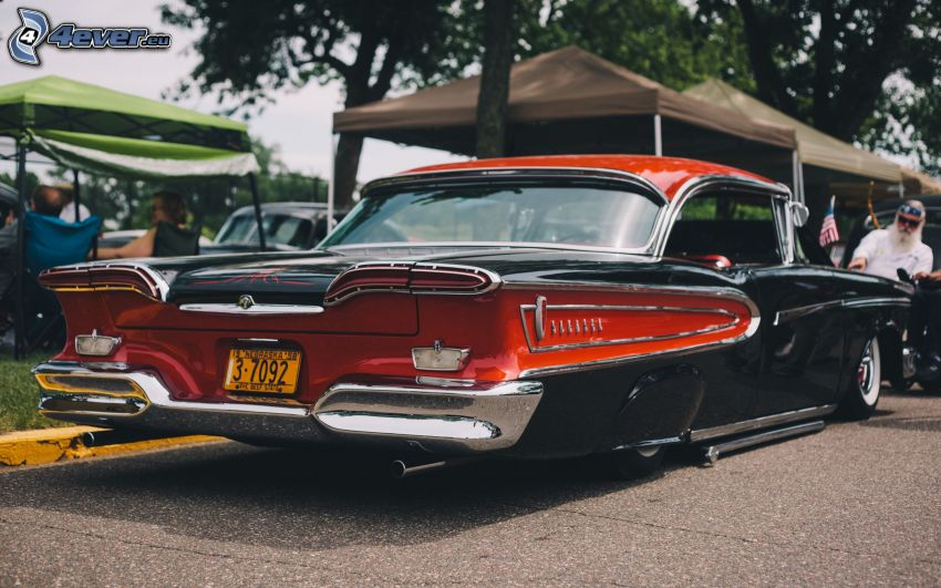 Edsel Corsair, oldtimer, exhibition