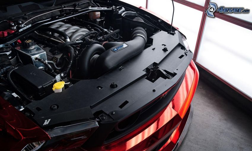 engine, Ford Mustang