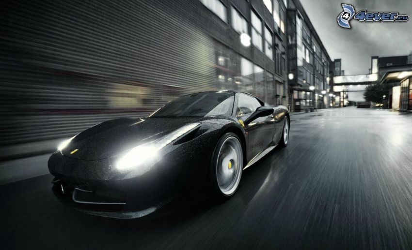Ferrari, street