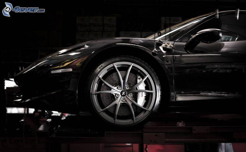 Ferrari, wheel, rim
