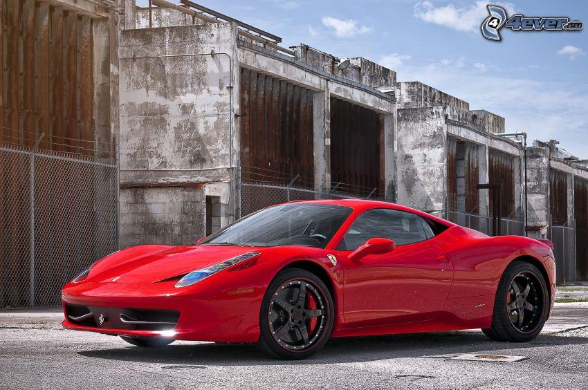 Ferrari 458 Italia, wall