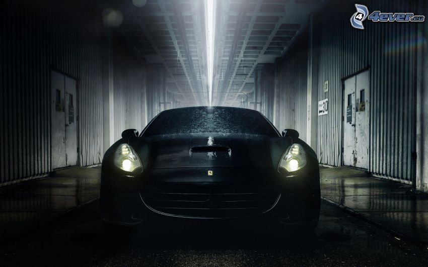 Ferrari California GT, lights