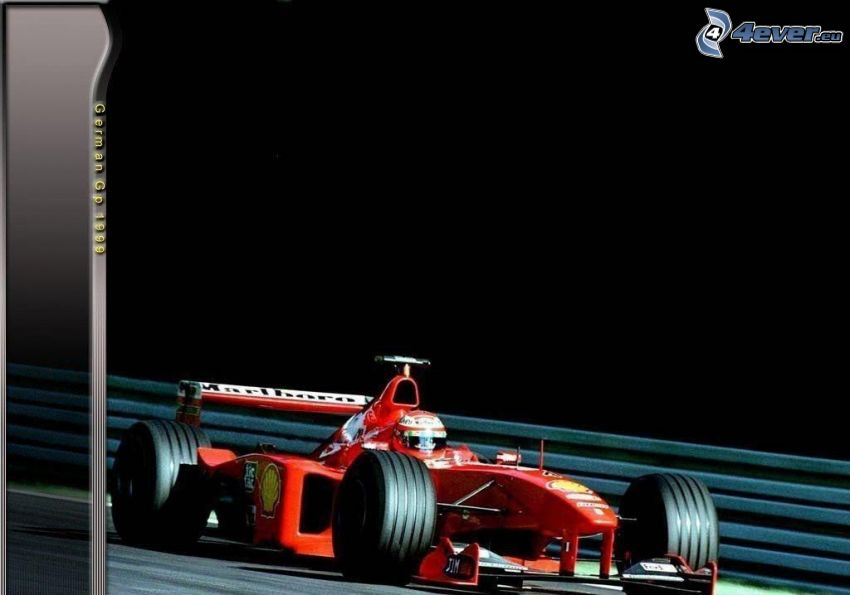 Ferrari F1, formula, Germany, 1999