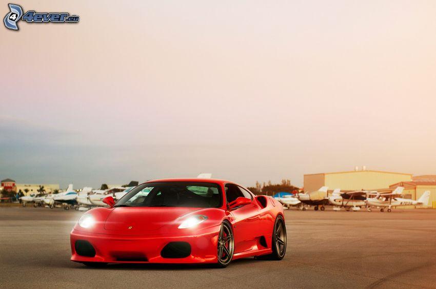 Ferrari F430, airport