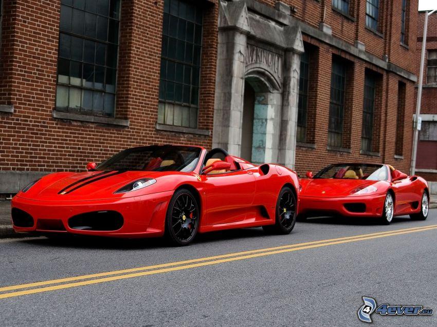 Ferrari F430 Scuderia, Ferrari 360 Spider, convertible