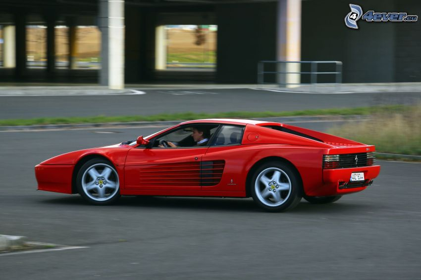 Ferrari TR, speed