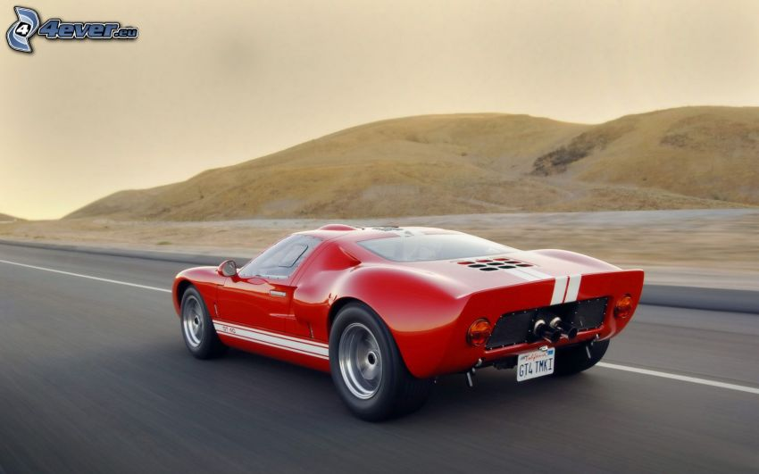 Ford GT40, mountain