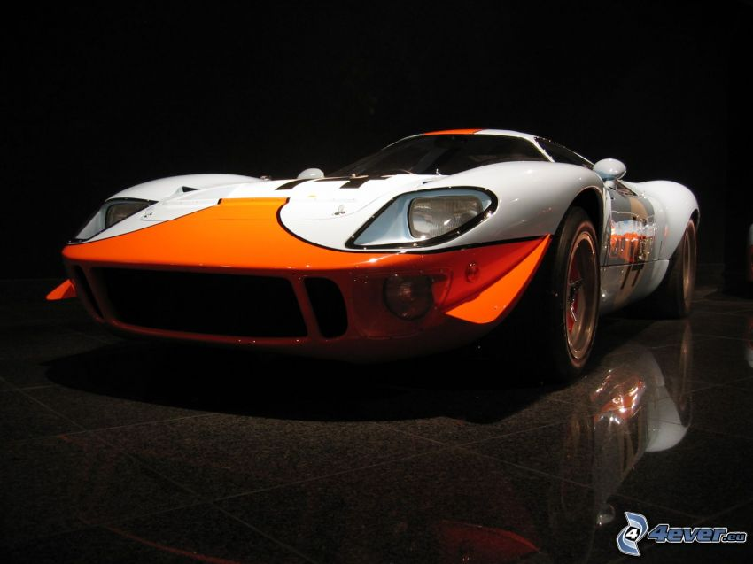Ford GT40, racing car