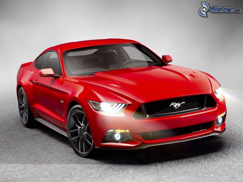 Ford Mustang Giugiaro, lights