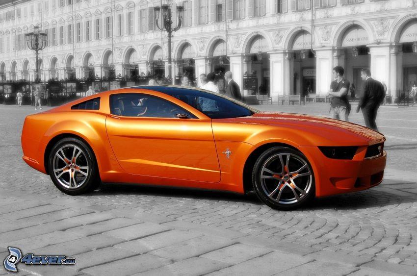 Ford Mustang Giugiaro, street