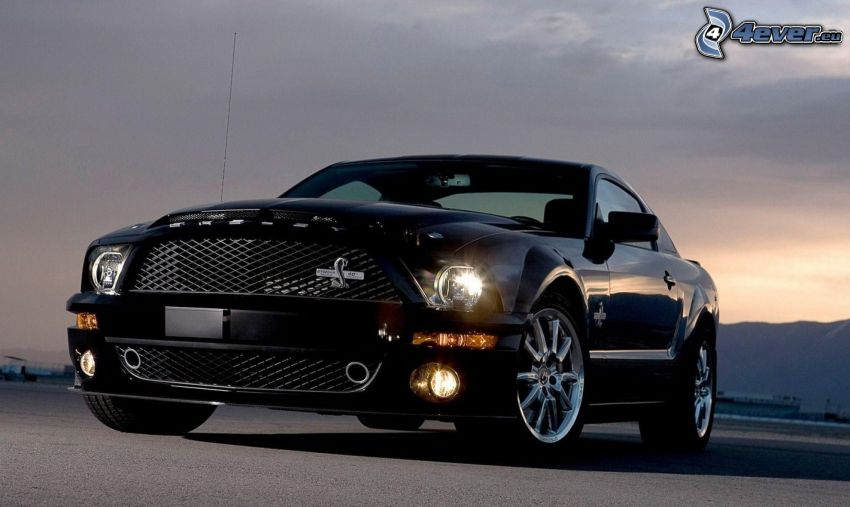 Ford Mustang Shelby GT500, lights