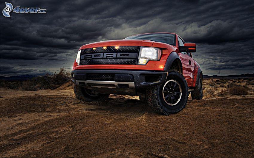 Ford Raptor, terrain
