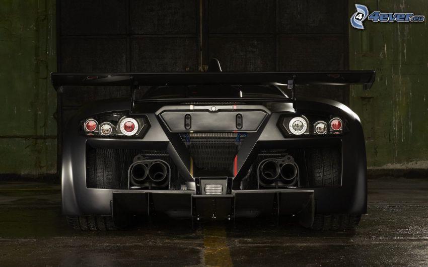 Gumpert Apollo, exhaust, sports car
