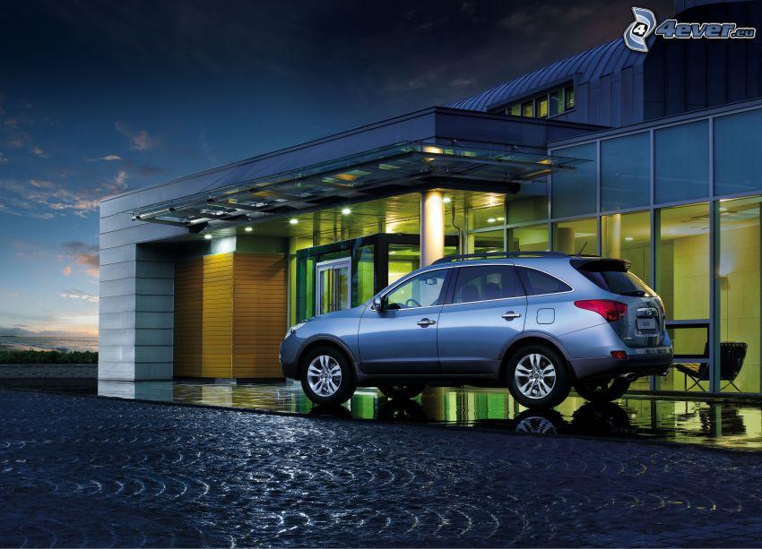 Hyundai, modern house