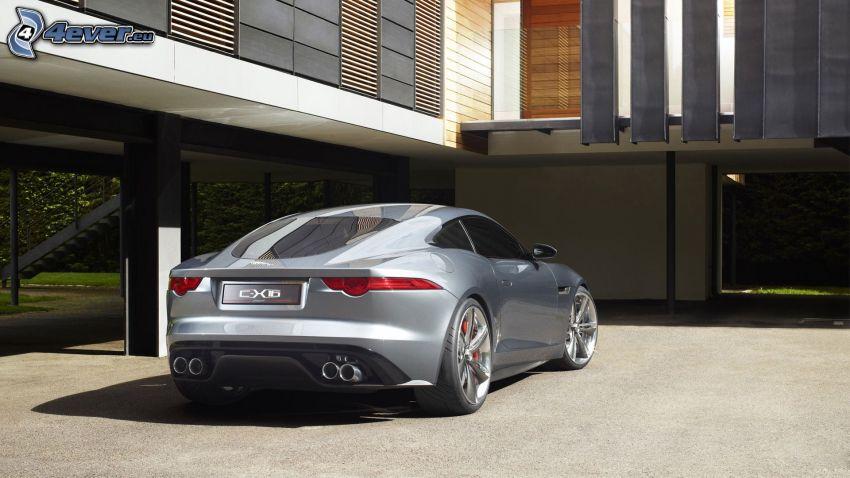 Jaguar C-X16, concept, building
