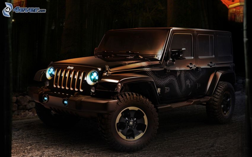 Jeep Wrangler Dragon