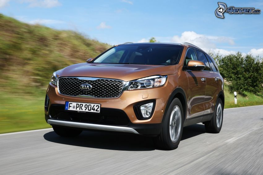 Kia Sorento, speed
