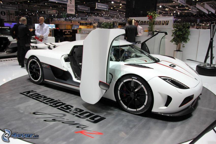 Koenigsegg Agera R, exhibition, auto show