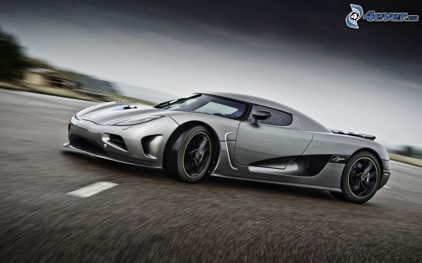 Koenigsegg Agera R, speed