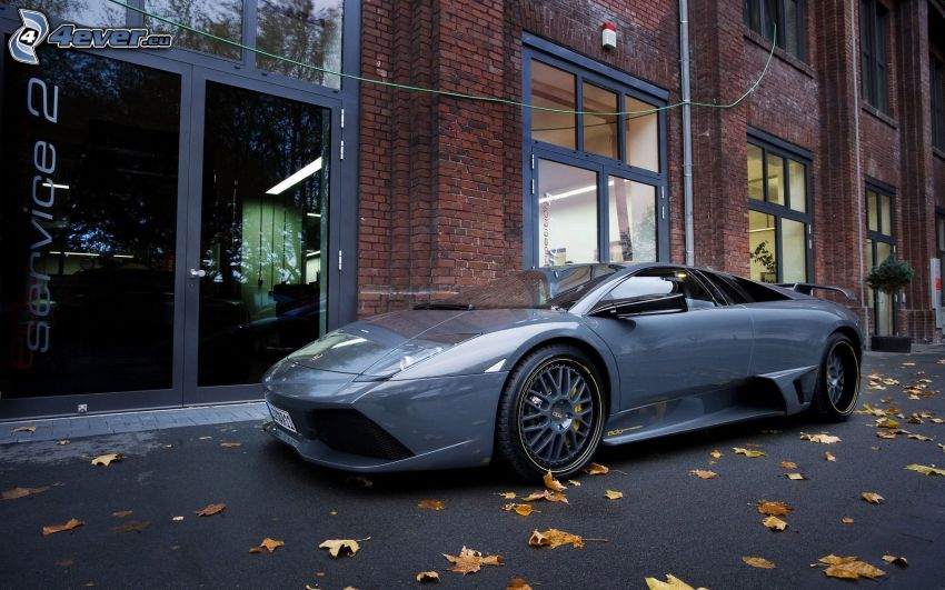 Lamborghini, street