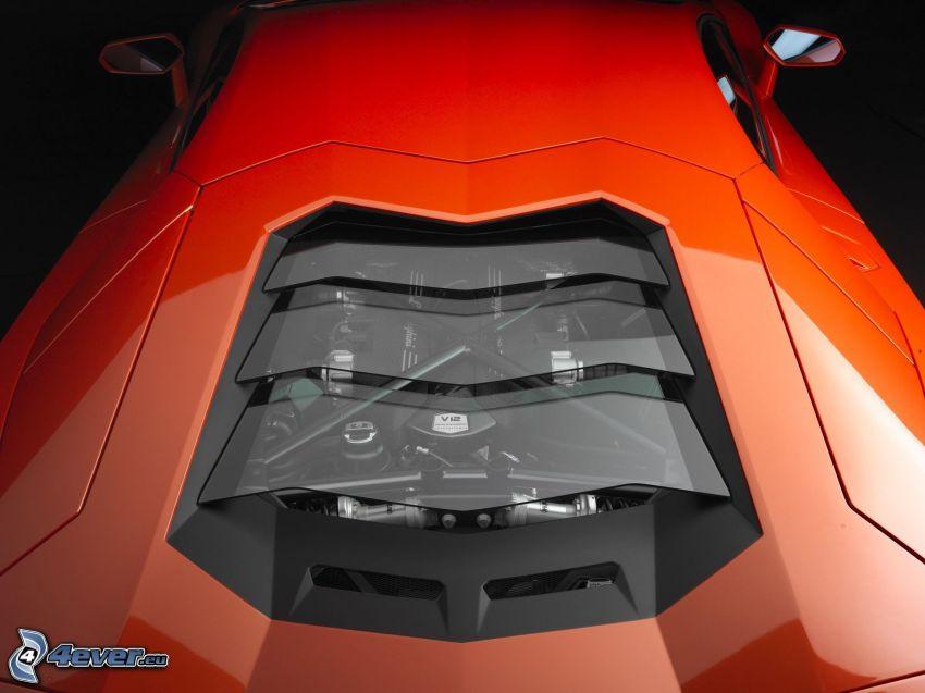 Lamborghini Aventador, engine