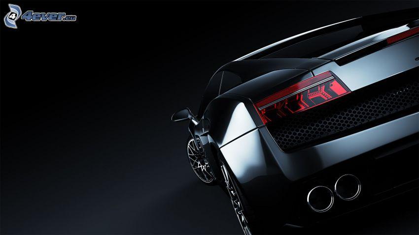 Lamborghini Aventador, exhaust