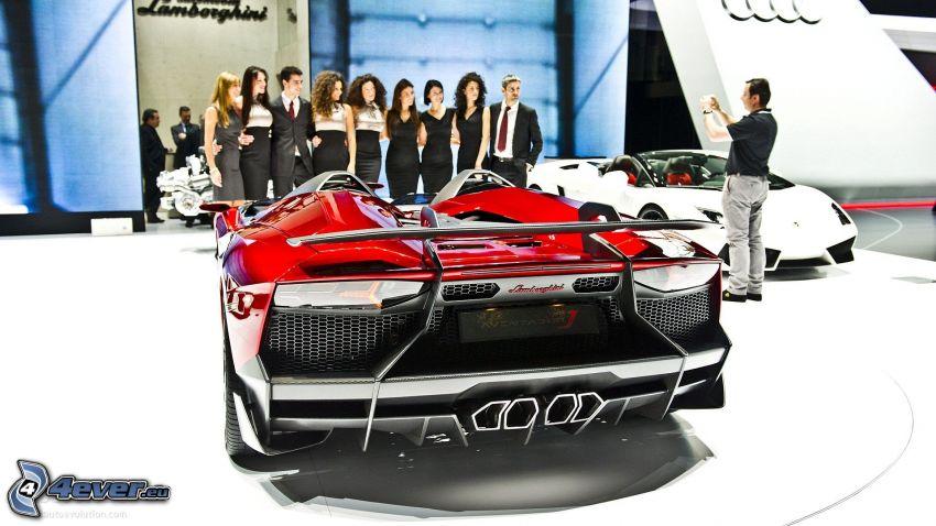 Lamborghini Aventador, exhibition