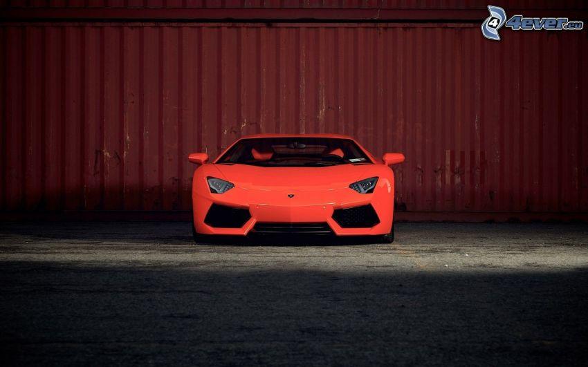 Lamborghini Aventador, front grille