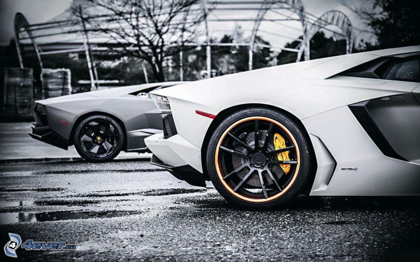 Lamborghini Aventador, wheel, rim