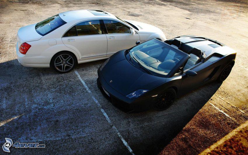 Lamborghini Gallardo, Mercedes-Benz, convertible