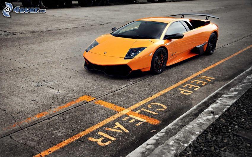 Lamborghini Murciélago, sports car