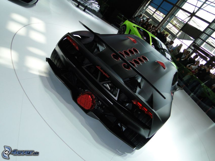 Lamborghini Sesto Elemento, auto show